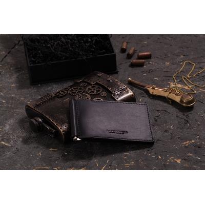Зажим для денег Kleo Black